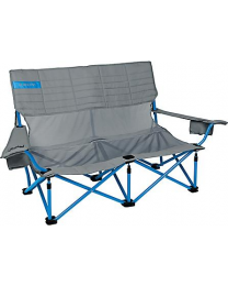 Kelty Mesh Low-Love Chair (Smoke/Paradise Blue)