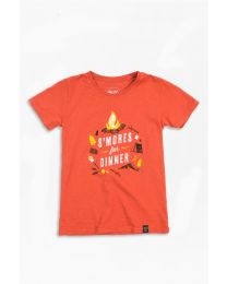 Kid's S'mores For Dinner Shirt