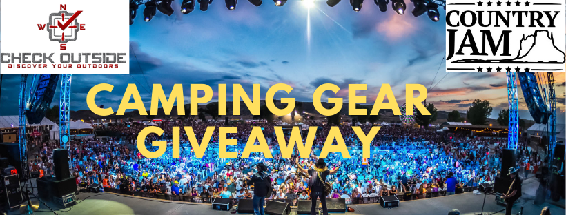 Camping Gear Giveaway by Check Outside for Country Jam